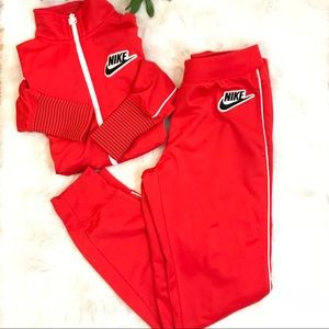Nike | two piece track suit